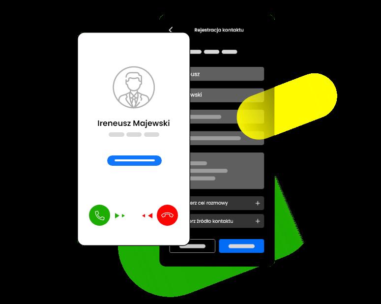 Monitoring telefonu CRM
