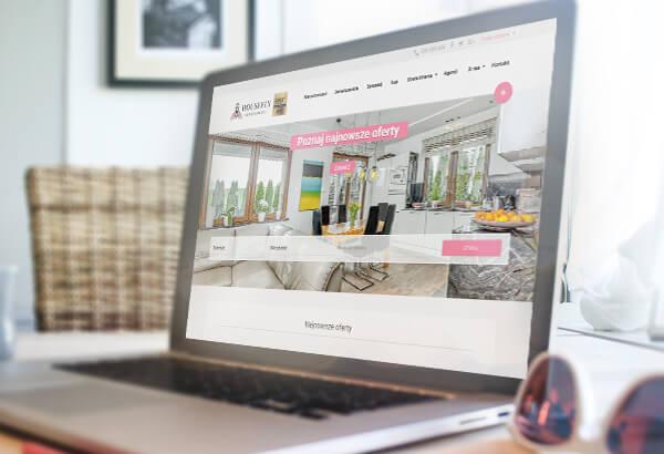 Responsywna strona internetowa HouseFly