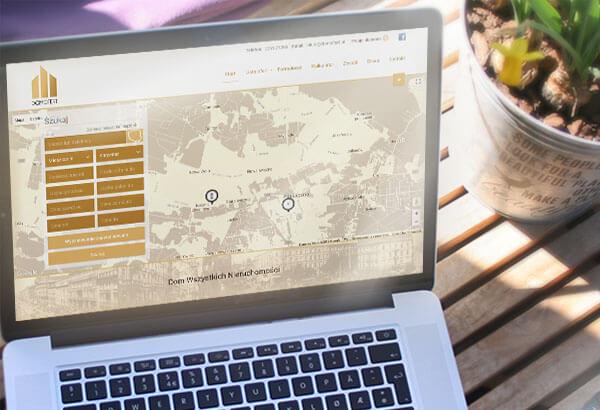 Wykonanie witryny internetowej DomOfert