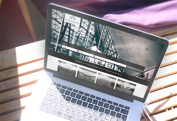 Projekt i wykonanie strony WWW Komercja.net