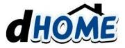 Logo serwisu dHome