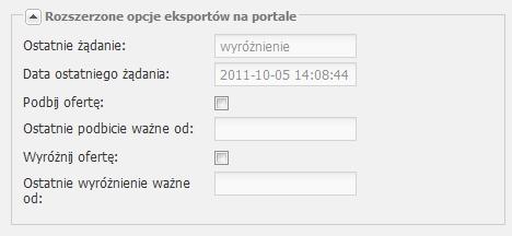 eksport ogłoszeń do serwisu Domiporta