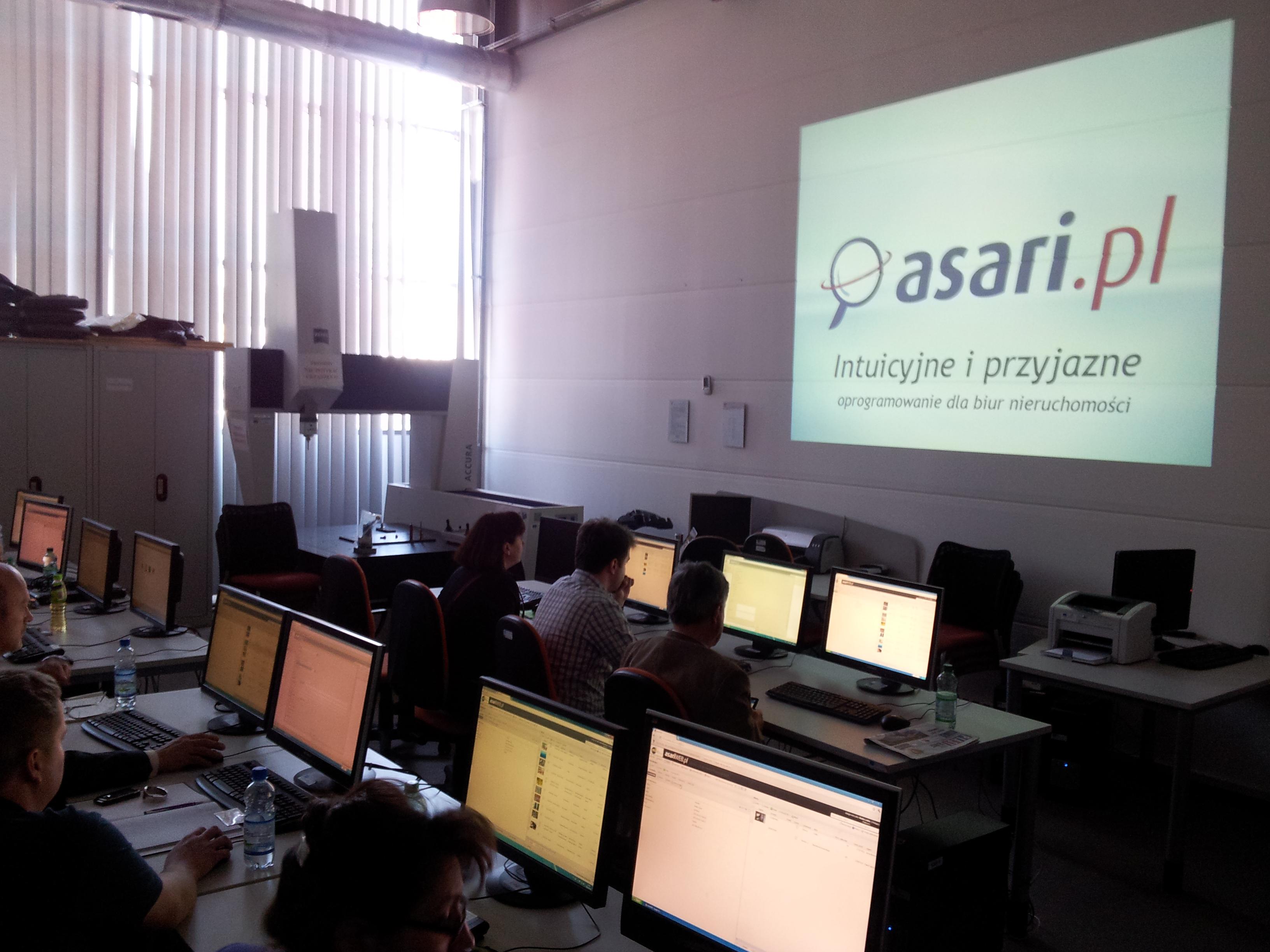 Szkolenie z obsługi asariWEB dla specjalistów w obrocie nieruchomościami ze Śląska