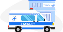 Zaoferowaliśmy Ministerstwu Zdrowia ASARI CRM jako system do zarządzania informacją o wolnych zasobach szpitali, w tym łóżkach dla pacjentów COVID-19
