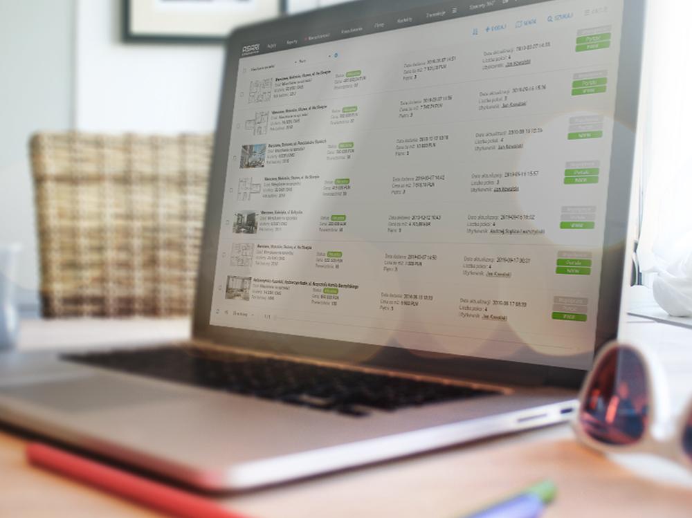 Zarządzanie ofertami w programie dla biur nieruchomości