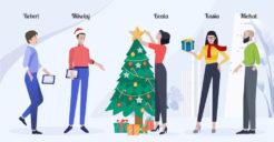 Jak zorganizować firmowe Święta? 6 sprawdzonych sposobów i 1 niezbędne narzędzie!