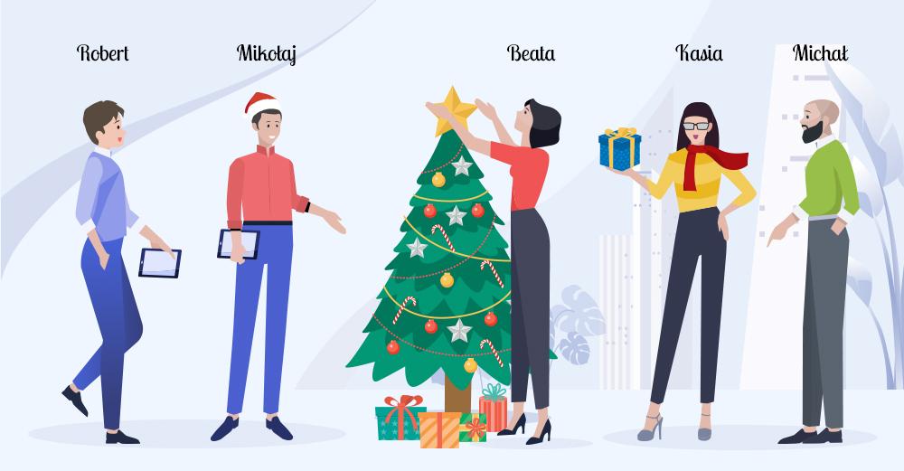 Organizacja świąt w firmie
