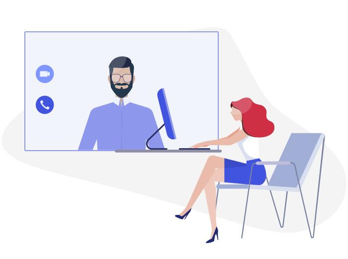 Videokonferencja jako forma dbania o relacje