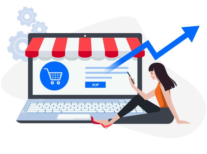 Sklepy online - rosnąca popularność