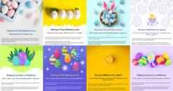 Wielkanoc już blisko – wyślij życzenia do klientów!