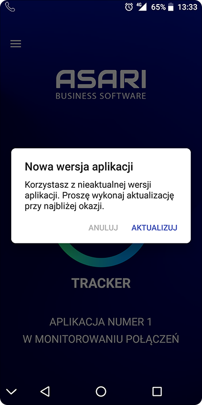 Ręczna aktualizacja aplikacji w systemie Android