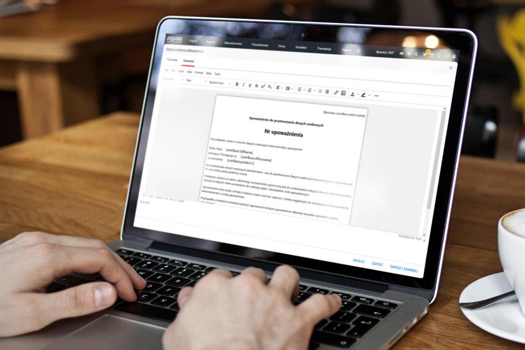 Generator dokumentów w CRM